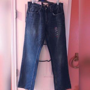 Men's jeans straight leg (wide)